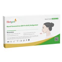Antigen-Schnelltest Hotgen SARS-CoV-2 Antigen Test Card mit Laienzulassung 8 ...