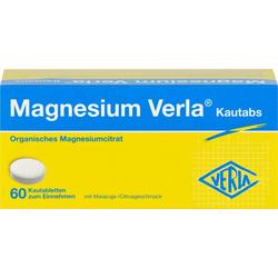 MAGNESIUM VERLA Kautabs 60 St.