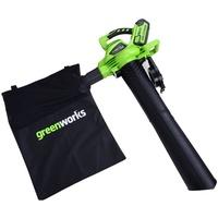 Greenworks Akku-Laubbläser/-sauger 40 V ohne Akku