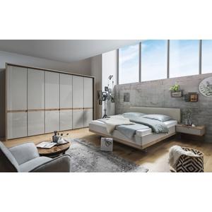 Wiemann Schlafzimmer Barcelona in Bianco Eiche-Optik