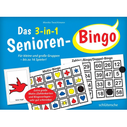 Das 3-in-1 Senioren-Bingo