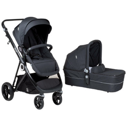babyGO Kinderwagen Vogue Deluxe Dark Grey