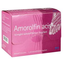 Amorolfin acis 50mg/ml Nagellack
