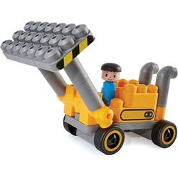 Hape Steckspielzeug Baustellenfahrzeuge