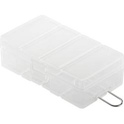 Basetech BT-Box-013 Batteriebox 4x CR-123A, 16340 (L x B x H) 73 x 41 x 22mm