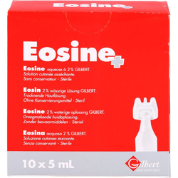 EOSIN 2% wässrige Pflegelösung steril 50 ml
