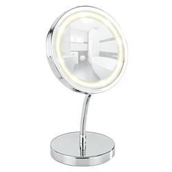 Wenko 3656360800 Brolo LED-Standspiegel schwenkbar Chrom