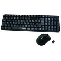Logilink Funk Tastatur DE Set schwarz (ID0119)