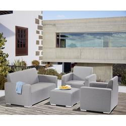 Gardissimo TIAS Lounge Gartenmöbel Sitzgruppe Sunbrella grau - 609184
