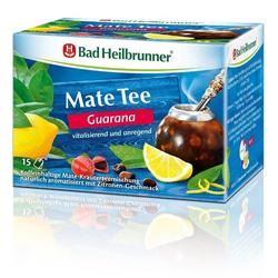 Bad Heilbrunner Naturheilm.&Co. Bad Heilbrunner Mate Tee Guarana Filterbeutel