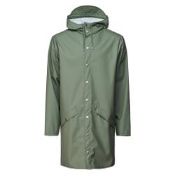 Rains - Long Jacket Olive - Jacken - Größe: XXS/XS
