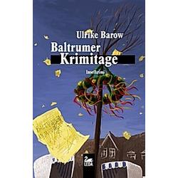 Baltrumer Krimitage. Ulrike Barow  - Buch