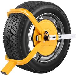 COSTWAY Wegfahrsperre Diebstahlsicherung Radsicherung Reifenkralle