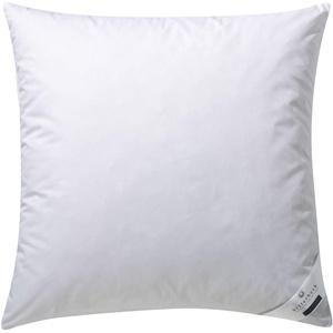 Gänsefederkopfkissen, weiß, 80x80cm, »Ginnie 30«, billerbeck