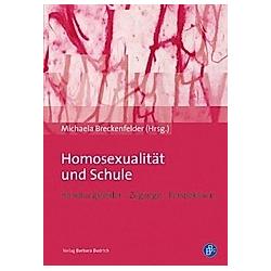 Homosexualität und Schule - Buch