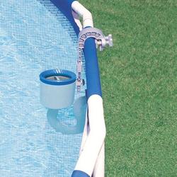 Intex Deluxe Einhängeskimmer (Oberflächensauger) mit Wandhalter für Swimming Pools,,3,8 cm