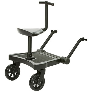 ABC Design 2020 Kiddie Ride On 2 inkl. Sitz -Trittbrett Kiddy Board black TOP