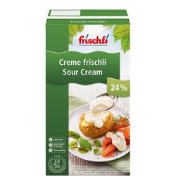Frischli Creme Sauerrahm 24% für anspruchsvolle Großverbraucher 1000g
