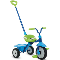 smarTrike® Dreirad Folding Fun blau, mit Schubstange