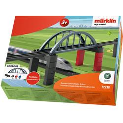 Märklin Modelleisenbahn-Hochbahn my world - Baustein-Set Hochbahn-Brücke 72218 bunt Kinder Schienen Zubehör Modelleisenbahnen Autos, Eisenbahn Modellbau