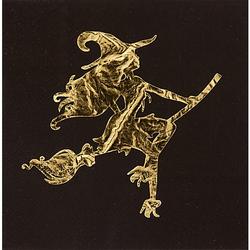 "Papierserviette ""Hexenparty"", metallic, 33 x 33 cm, 20 Stück"
