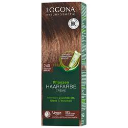Logona Creme 240 Nougatbraun Haarfarbe 150ml Damen
