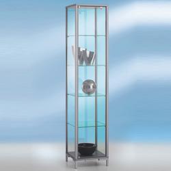 Glasvitrine 40x40 cm mit Drehtür abschließbar