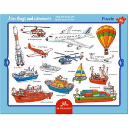 COPPENRATH Rahmenpuzzle - Alles fliegt und schwimmt (40 T.)