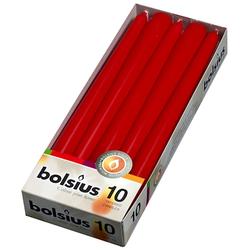 Bolsius Kerzen H: 12 cm Rot