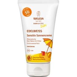 WELEDA EDELWEISS Sensitiv Sonnencreme LSF 50 Baby&KIDS