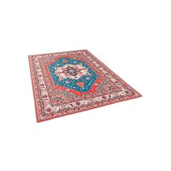 Designteppich Luxus Orient Teppich Primus Keshan, Pergamon, Rechteckig, Höhe 7 mm 80 cm x 150 cm x 7 mm