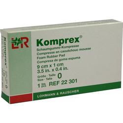Komprex Schaumgummi Kompr.Gr.0 Nierenf.