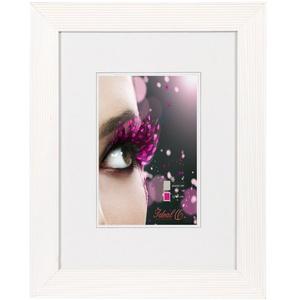 GRANDO Bilderrahmen Holz Rahmen 10x15 13x18 15x20 20x30 30x40 30x45 40x50 50x70: Farbe: Weiß | Format: 13x18