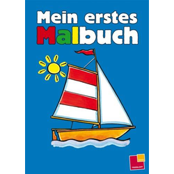 Tessloff Mein erstes Malbuch, blau 30539