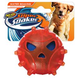 Nerf Dog Super Soaker Kugelfisch rot
