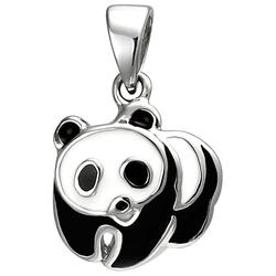 JOBO Kettenanhänger Panda, 925 Silber