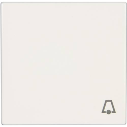 Jung Abdeckung Symbolwippe  Klingel  LS 990, LS design, LS plus Alpinweiß LS 990 K WW