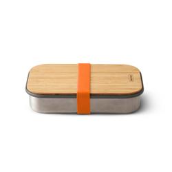 Sandwichbox black+blum orange (LBH 22x15x5 cm) black+blum