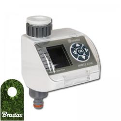 Bewässerungsautomat mit LCD Display Bewässerungscomputer Bewässerungssystem WHITE LINE BRADAS 6968