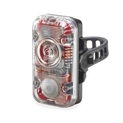 Lupine Fahrradbeleuchtung Lupine Rotlicht schwarz (StVZO Rücklicht) 40 Lumen