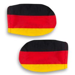 2er Set Autospiegel-Überzug Deutschland Fußball WM