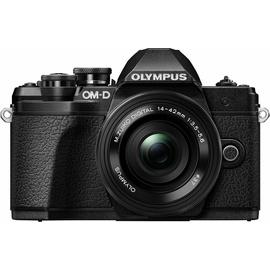 Olympus OM-D E-M10 Mark III schwarz+ 14-42 mm EZ + 40-150mm R
