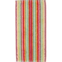 CAWÖ Life Style Streifen Handtuch 2 x 50 x 100 cm hell multicolor