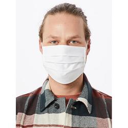 mund-nasen-maske Mund-Nasen-Masken weiß Gr. one size