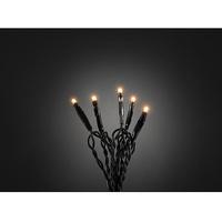 Konstsmide 6354-820 Micro-Lichterkette Innen netzbetrieben Anzahl Leuchtmittel 100 LED Bernstein Bel