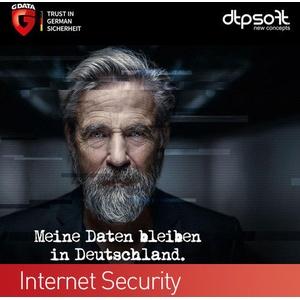G DATA Internet Security 2 PC 2021 VOLLVERSION  Antivirus GDATA 2021 DE EU