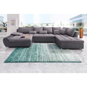Sit&more Wohnlandschaft »Bandos« mit Bettfunktion, grau