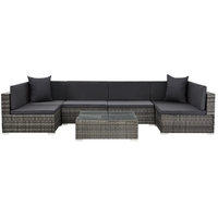 VidaXL Lounge-Set grau 44601
