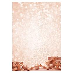SIGEL Weihnachtsbriefpapier Golden Dream Motiv DIN A4 90 g/qm 100 Blatt