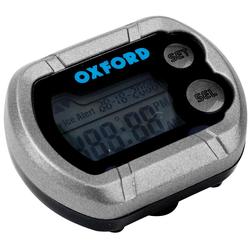 Oxford Deluxe Motorrad Digitaluhr, schwarz